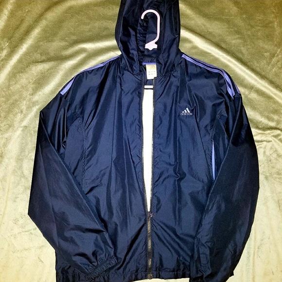 adidas Jackets & Blazers - Adidas women's windbreaker, L